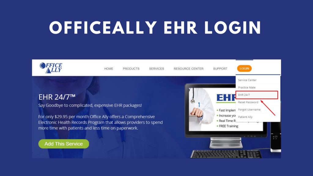 officeally ehr login