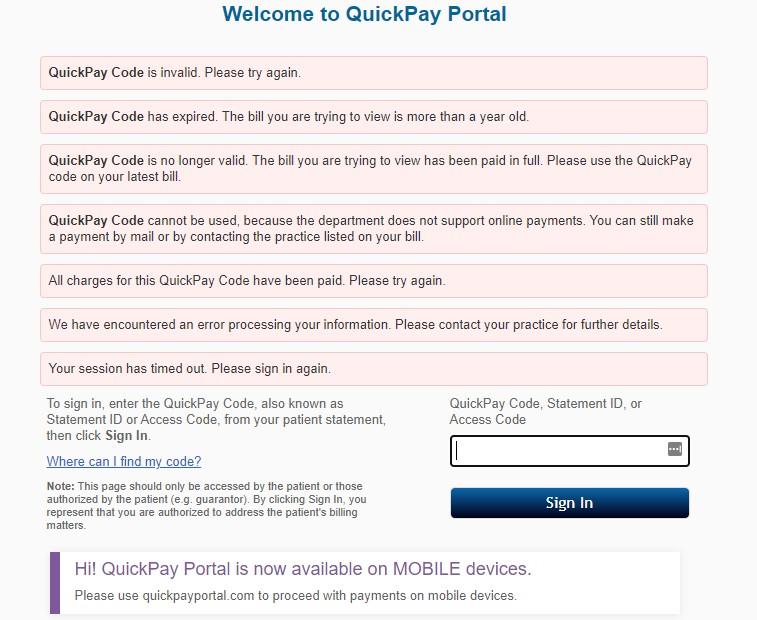 quickpayportal