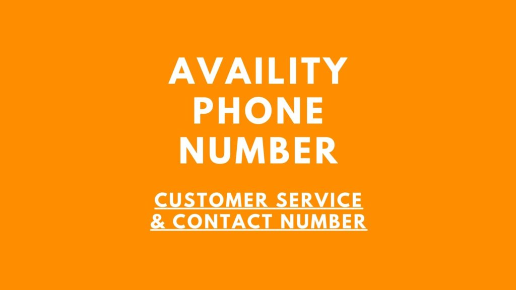availity phone number